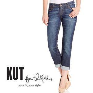 Kut from the Kloth Catherine Boyfriend Jeans 12P